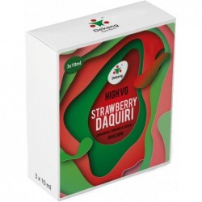 Liquid Dekang High VG 3Pack Strawberry Daquiri 3x10 ml - 00 mg