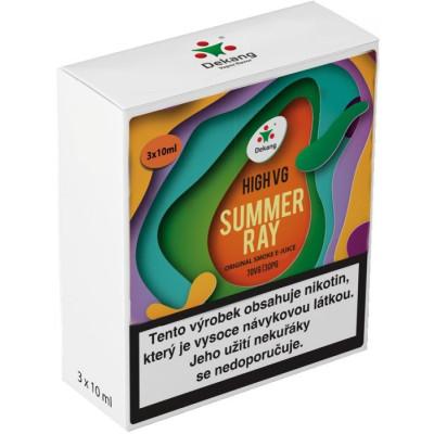 Liquid Dekang High VG 3Pack Summer Ray 3x10ml - 1,5mg