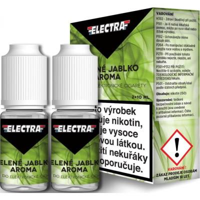 Liquid ELECTRA 2Pack Green Apple 2x10 ml - 6 mg