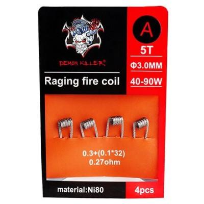 Demon Killer Raging Fire předmotané spirálky Ni80 - 0,27 ohm - Typ A