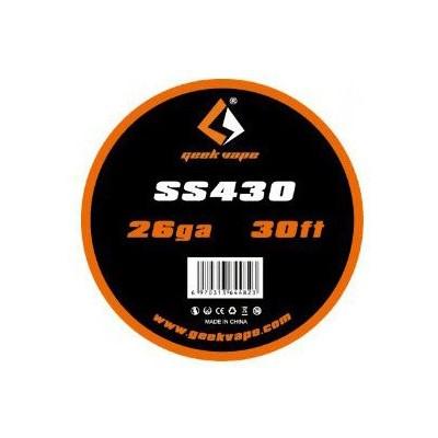 Geekvape SS430 odporový drát 26GA (0,4 mm) - 10 m