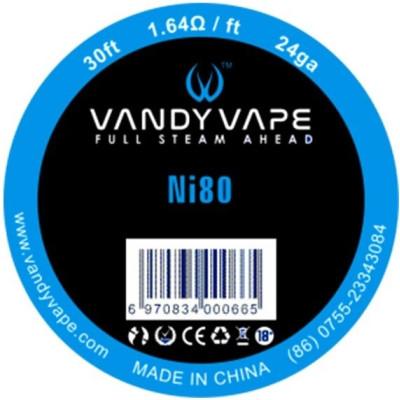 Vandy Vape Ni80 odporový drát 24GA - 10 m