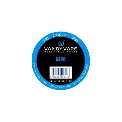 Vandy Vape Ni80 odporový drát 26GA - 10 m