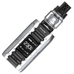 Smoktech E-Priv TC 230W Grip s TFV12 Prince Black-Silver Full Kit