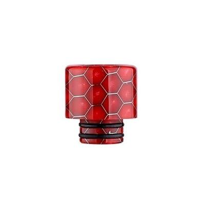 Snake Pattern 510 náustek pro clearomizer Red