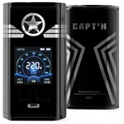 Vaptio Capt´n TC220W grip Easy Kit Black