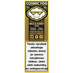 Liquid COSMIC FOG Milk and Honey 10 ml - 12 mg