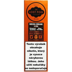 Liquid COSMIC FOG - LOST FOG Neon Cream 10 ml - 12 mg