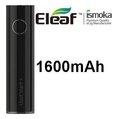iSmoka-Eleaf iJust Start Plus baterie 1600 mAh Black