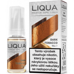 Liquid LIQUA CZ Elements Dark Tobacco 10ml-12mg (Silný tabák)