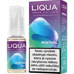 Liquid LIQUA CZ Elements Menthol 10ml-12mg (Mentol)