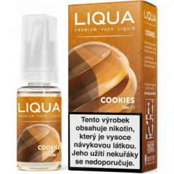 Liquid LIQUA CZ Elements Cookies 10ml-12mg (Sušenka)