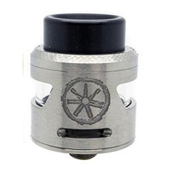 Asmodus Bunker RDA clearomizer Silver