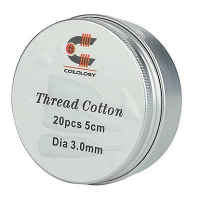 Coilology Thread Cotton - organická bavlna 20 ks