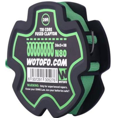 Wotofo Tri Core Fused Clapton odporový drát (26Ga*3+38Ga) 6 m