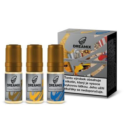 Dreamix 3x10 ml American Dream, Classic Tobacco, Cigarillos Tobacco - 12 mg