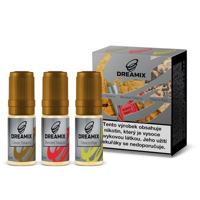 Dreamix 3x10 ml Classic Tobacco, Blended Tobacco, Tobacco Ripe - 06 mg
