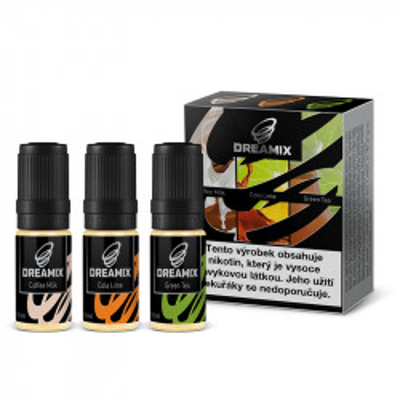 Dreamix 3x10 ml Cola Lime, Green Tea, Coffee Milk - 00 mg