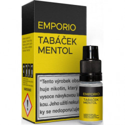 Liquid EMPORIO Tobacco-Menthol 10 ml - 06 mg