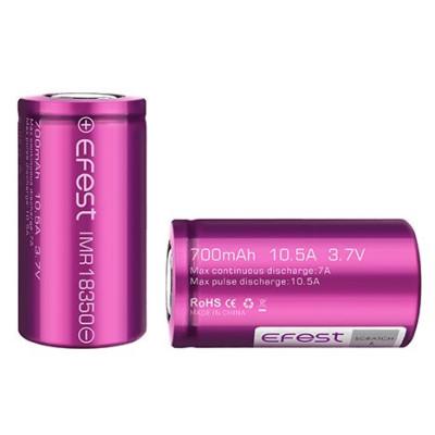 eFest baterie typ 18350 700 mAh 10,5A