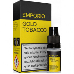 Liquid EMPORIO Gold Tobacco 10 ml - 06 mg