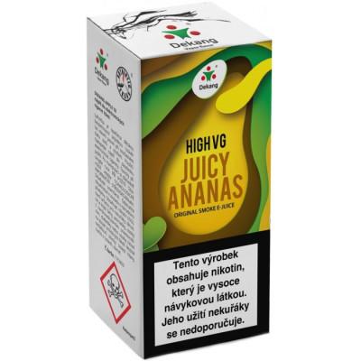 Liquid Dekang High VG Juicy Ananas 10 ml - 1,5 mg