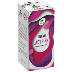 Liquid Dekang High VG Lady Pink 10ml - 0mg (Borůvka s broskví)