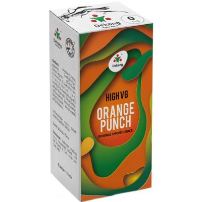 Liquid Dekang High VG Orange Punch 10 ml - 0 mg