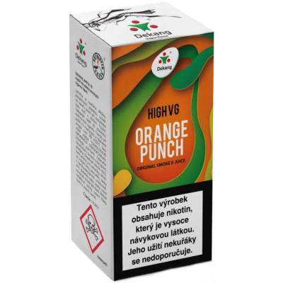 Liquid Dekang High VG Orange Punch 10 ml - 03 mg