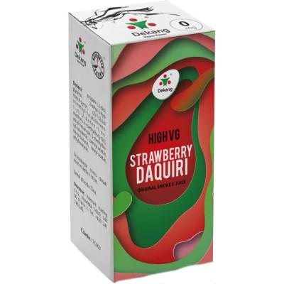 Liquid Dekang High VG Strawberry Daquiri 10 ml - 00 mg