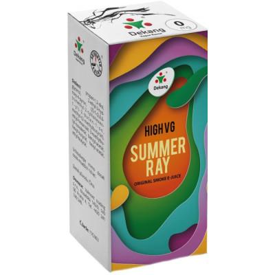 Liquid Dekang High VG Summer Ray 10 ml - 00 mg