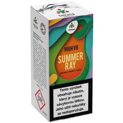 Liquid Dekang High VG Summer Ray 10 ml - 1,5 mg