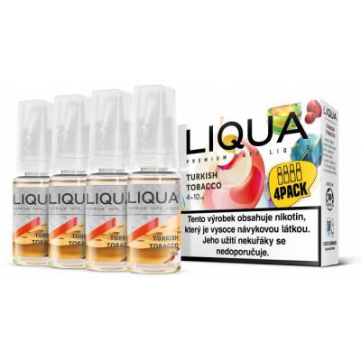 Liquid LIQUA CZ Elements 4Pack Turkish tobacco 4x10 ml 6 mg
