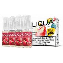 Liquid LIQUA CZ Elements 4Pack Cherry 4x10 ml 06 mg (třešeň)
