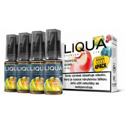 Liquid LIQUA CZ MIX 4Pack Tropical Bomb 10 ml 06 mg