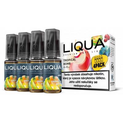 Liquid LIQUA CZ MIX 4Pack Tropical Bomb 10 ml 12 mg