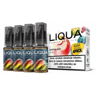 Liquid LIQUA CZ MIX 4Pack Shisha Mix 10 ml 06 mg
