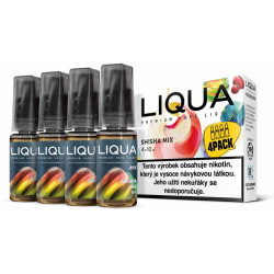 Liquid LIQUA CZ MIX 4Pack Shisha Mix 10 ml 3 mg