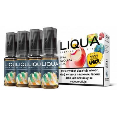 Liquid LIQUA CZ MIX 4Pack Pina Coolada 10 ml 06 mg