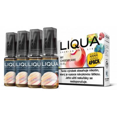 Liquid LIQUA CZ MIX 4Pack NY Cheesecake 10 ml 12 mg