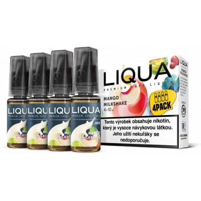 Liquid LIQUA CZ MIX 4Pack Mango Milkshake 10 ml 06 mg