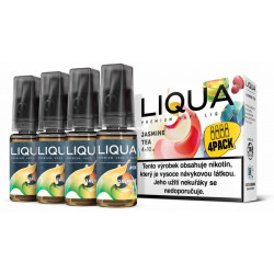 Liquid LIQUA CZ MIX 4Pack Jasmine Tea 10 ml 3 mg