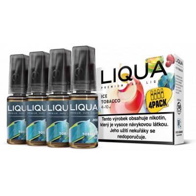 Liquid LIQUA CZ MIX 4Pack Ice Tobacco 10 ml 06 mg