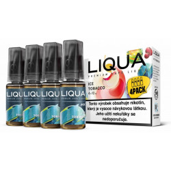 Liquid LIQUA CZ MIX 4Pack Ice Tobacco 10 ml 3 mg