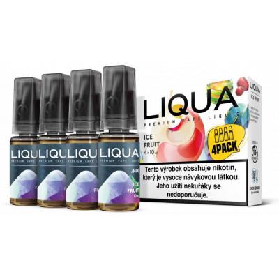 Liquid LIQUA CZ MIX 4Pack Ice Fruit 10 ml 06 mg