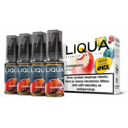 Liquid LIQUA CZ MIX 4Pack Cherribakki 10 ml 3 mg