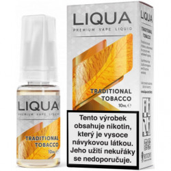 Liquid LIQUA CZ Elements Traditional Tobacco 10ml-3mg (Tradiční tabák)