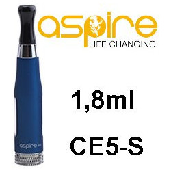 aSpire CE5-S Clearomizer 1,8ohm 1,8 ml Blue