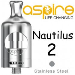 aSpire Nautilus 2 Clearomizer 2 ml Silver