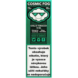 Liquid COSMIC FOG Chill´d Tobacco 10 ml - 03 mg